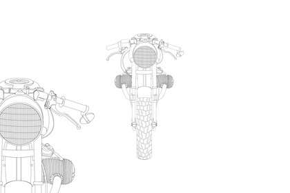 #10 for Vector Design, Logo Style for Motorcycle Brand, based on motorcycle photo by celmaicosmin