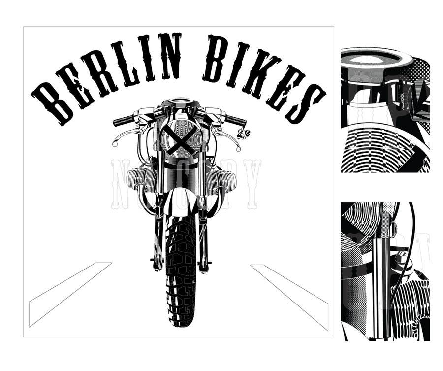 #18 for Vector Design, Logo Style for Motorcycle Brand, based on motorcycle photo by EugeneShupyk