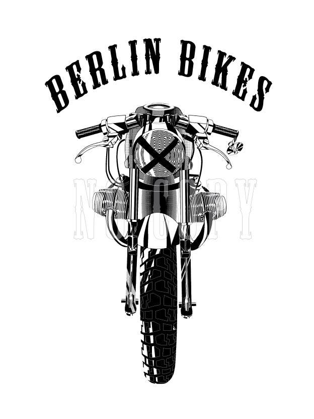 #21 for Vector Design, Logo Style for Motorcycle Brand, based on motorcycle photo by EugeneShupyk
