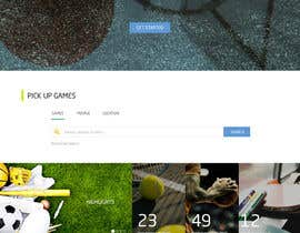 #11 untuk Single Web Page Design includes Header and Frozen Footer oleh shdt