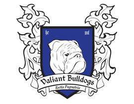 ivitopp tarafından Valiant Bulldog Logo Design için no 20