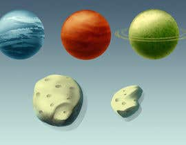 roland211 tarafından Looking for an artist to design a deep space game background and some planets. için no 13