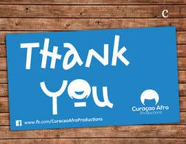 #66 untuk Thank You card oleh mlomayon