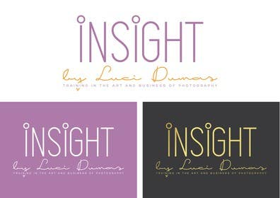 #52 untuk Design a Logo/ Business card for Insight b y Luci Dumas oleh TangaFx