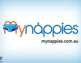 #222 for Logo Design for My Nappies by Fierro