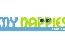 #70 para Logo Design for My Nappies por auchair