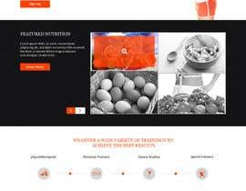 xsasdesign tarafından Health and fitness portal home page design contest için no 13