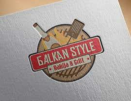 KonstantinosArg tarafından BALKAN STYLE / Rakija & Grill : Logo design için no 16