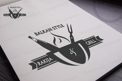 tanzeelrahman tarafından BALKAN STYLE / Rakija & Grill : Logo design için no 15