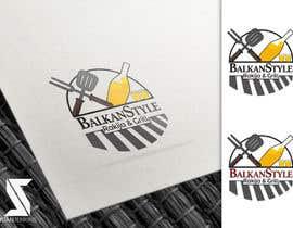 #26 for BALKAN STYLE / Rakija & Grill : Logo design by juanjenkins