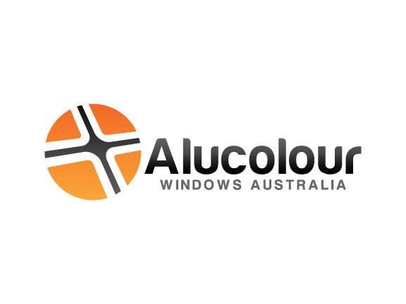 Konkurrenceindlæg #77 for Design a Logo for Alucolour Windows Australia