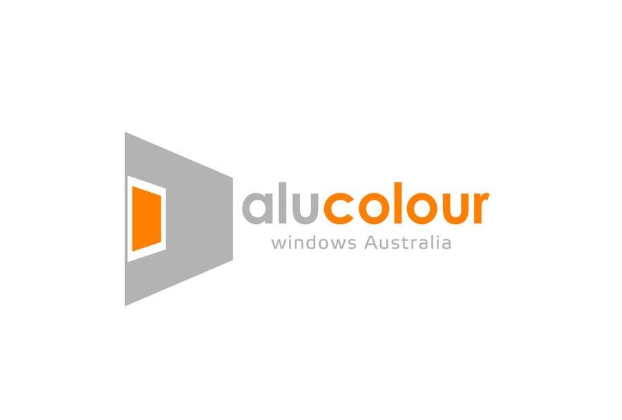 Konkurrenceindlæg #56 for Design a Logo for Alucolour Windows Australia
