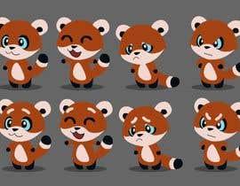 #17 untuk Red Panda Mascot For Language Learning Site oleh ALapointe
