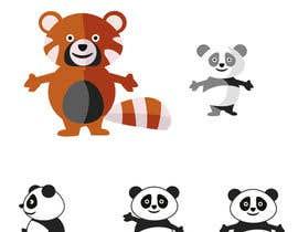 #16 untuk Red Panda Mascot For Language Learning Site oleh nanocb72