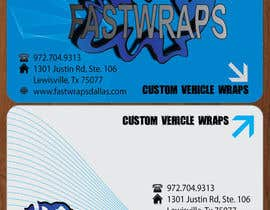 #37 for Design some Business Cards for Car Wrap Business af kukuhsantoso86