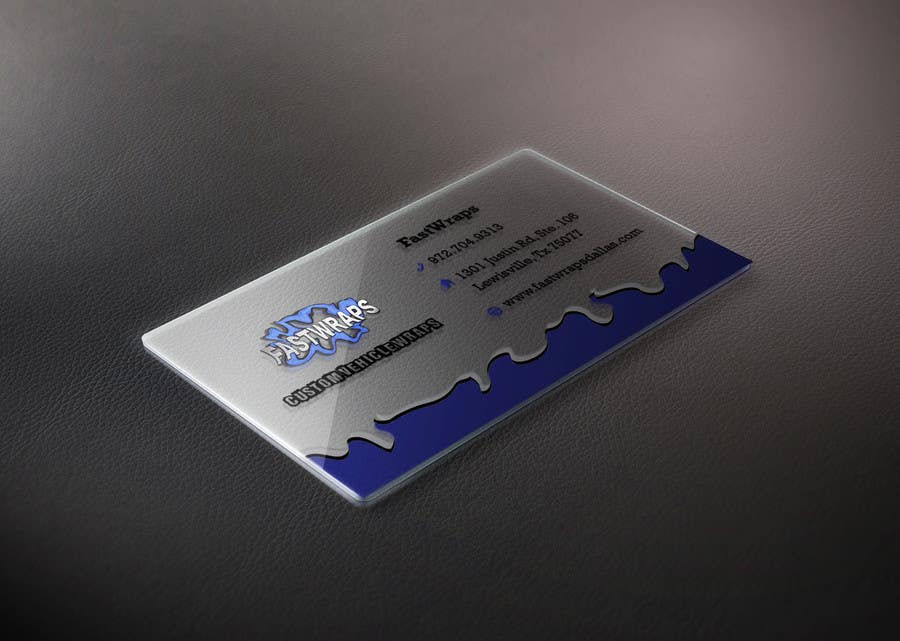 #16 for Design some Business Cards for Car Wrap Business by raywind