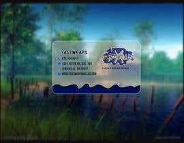 #43 para Design some Business Cards for Car Wrap Business por Malliyoor