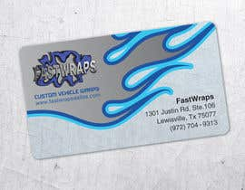 #41 para Design some Business Cards for Car Wrap Business por StudioAkikusa