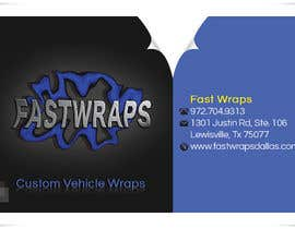 #9 untuk Design some Business Cards for Car Wrap Business oleh sedayu