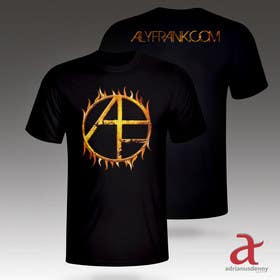 adrianusdenny tarafından Design a T-Shirt for Musician/Artist! için no 17