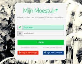 jersonstudio tarafından Moestuin applicatie - Promo pagina için no 2