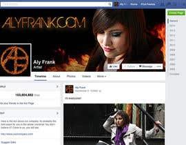 LeslieDesign tarafından Design a Facebook page for artist/musician! için no 18