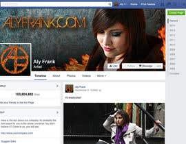 LeslieDesign tarafından Design a Facebook page for artist/musician! için no 19