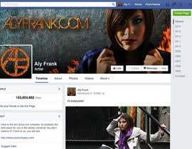 LeslieDesign tarafından Design a Facebook page for artist/musician! için no 39
