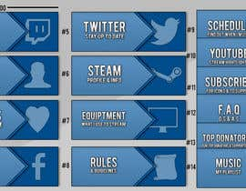 #12 untuk Twitch TV Streaming Description Headers oleh LiveWiree