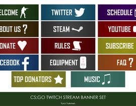 #6 untuk Twitch TV Streaming Description Headers oleh turkmentunc