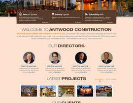 nº 25 pour Build a Website for Antwood Construction par iNoesis