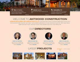 #40 untuk Build a Website for Antwood Construction oleh iNoesis