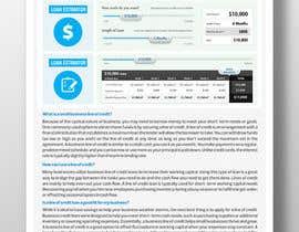 #10 untuk Design a Brochure Business Line of Credit  2 oleh MdShafiPulikkal