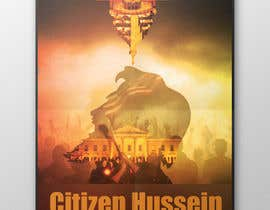 "#16 untuk Design a movie poster for ""Citizen Hussein"" oleh Visualconnect1"