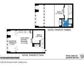 #6 for Edit a floorplan by RaveenSachi22