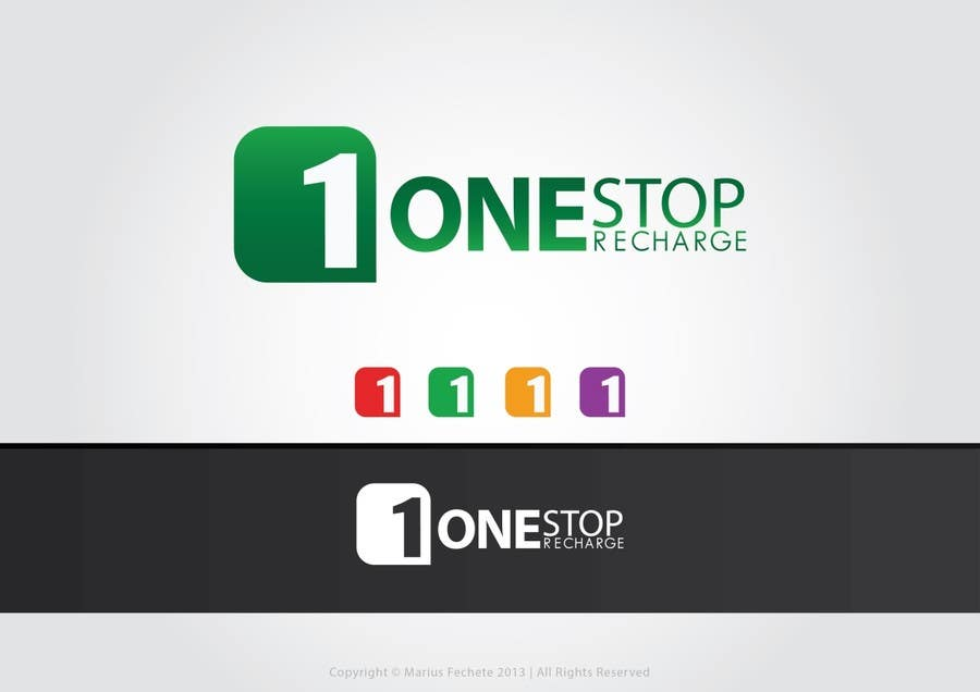 #159 for Design a Logo for onestoprecharge.com by mariusfechete