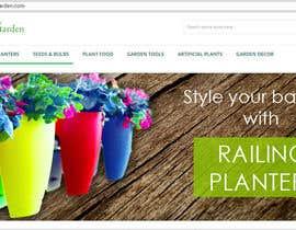 pramodinipk tarafından Design a banner for my Website Railing Planters için no 2