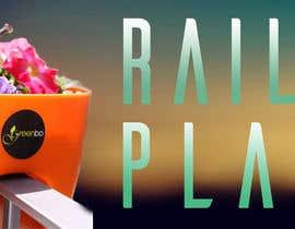 Bogomygkov tarafından Design a banner for my Website Railing Planters için no 8