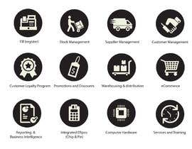 #38 for Design Icon Set for Retail Company by NILESH38