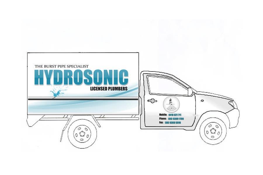 Konkurrenceindlæg #29 for Graphic Design for Hydrosonic Leak Detection Service