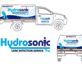#132 para Graphic Design for Hydrosonic Leak Detection Service de ivandacanay
