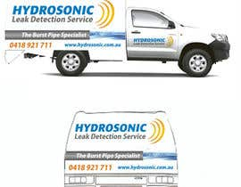 #118 para Graphic Design for Hydrosonic Leak Detection Service de santarellid