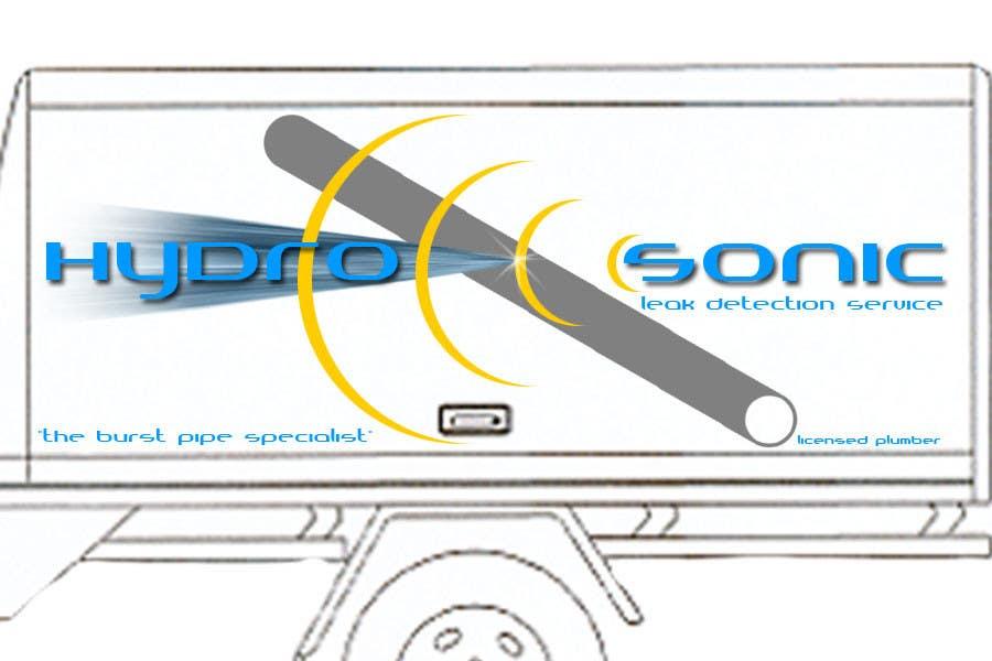 Konkurrenceindlæg #28 for Graphic Design for Hydrosonic Leak Detection Service