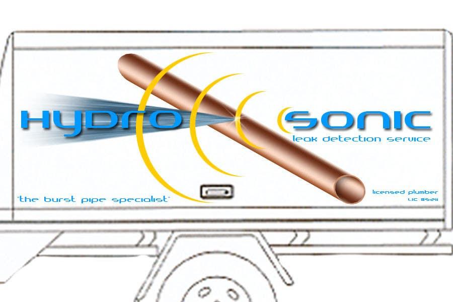 Participación en el concurso Nro.                                        76                                      para                                         Graphic Design for Hydrosonic Leak Detection Service