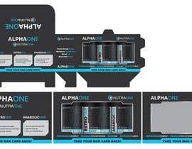 creatrixdesign tarafından Supplement Box Kit - AlphaOne için no 13