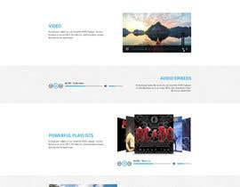 #43 для Design Homepage Layout For Cloud Storage App от SMsites