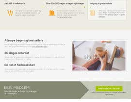 updated6188 tarafından Design a landing page within our website design için no 8