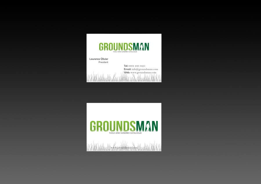Konkurrenceindlæg #16 for Design some Stationery for Groundsman, cards, letter heads and email footers