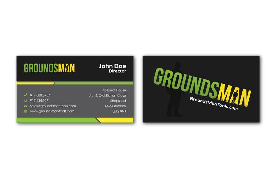 Penyertaan Peraduan #59 untuk Design some Stationery for Groundsman, cards, letter heads and email footers
