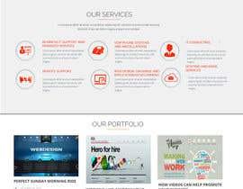 Nro 10 kilpailuun Design a 4 page Website Mockup for us käyttäjältä lassoarts